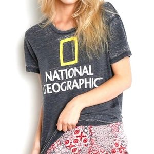 Chaser National Geographic Collection Burnout Tee
